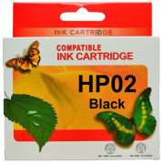 HP 02 Ink Cartridge Compatible (Any Colour)