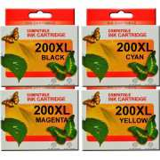 200XL Epson Ink Cartridge Compatible x 4 (Full Set)