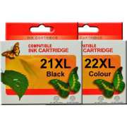 HP21XL HP22XL Ink Cartridge Remanufactured (Full Set)