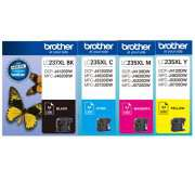 Genuine Brother LC237XL LC235XL  (Full Set)