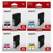 Genuine PGI2600XL Canon Ink Cartridges (Full Set)