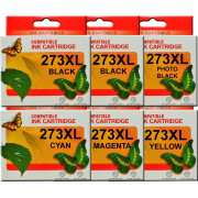 T273XL Epson Ink Cartridges Compatible (Extra Black)