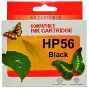 HP 56 Black Ink Cartridge Remanufactured