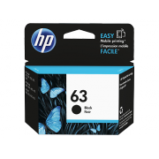 Genuine HP63 Black Ink Cartridge