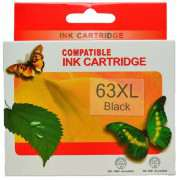 HP63XL Black Ink Cartridge Remanufactured