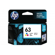 Genuine HP63 Colour Ink Cartridge