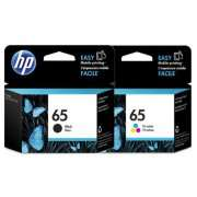 Genuine HP65 Ink Cartridge x 2