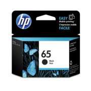 Genuine HP65 Black Ink Cartridge