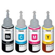 T6641-4 Epson Ecotank Refill (Any Colour)