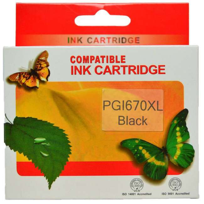 PGI670XL CLI671XL Ink Cartridge Comp. (Any Colour)
