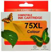 HP 75XL Colour Ink Cartridges Remanufactured