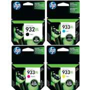 Genuine HP 932XL 933XL Ink Cartridge  x 4