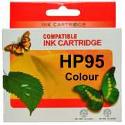 HP 95 Colour Ink Cartridges Remanufactured