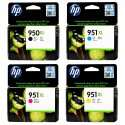 Genuine HP 950XL/951XL Ink Cartridge (Full Set)