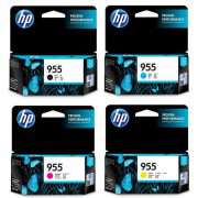 Genuine HP 955 Ink Cartridge x 4 (Full Set)