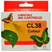 CL38 Canon Ink Cartridge Remanufactured (Colour)