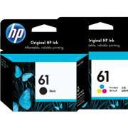Genuine HP61 Black and Colour Ink Cartridges
