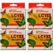 LC133 (LC131) Brother Ink Cartridge x 4 (Full Set)