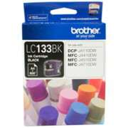 Genuine LC133 Brother Ink Cartridges Black
