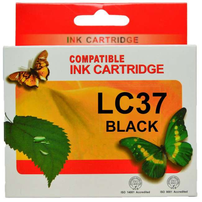 LC37 (LC57) Brother Ink Cartridge Compatible (Any Colour)