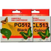 PG512 CL513 Canon Ink Cartridge Remanufactured (Full Set)