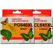 PG640XL CL641XL Canon Ink Cartridge Remanufactured (Full Set)